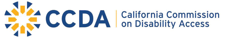 California Commission on Disability Access logo
